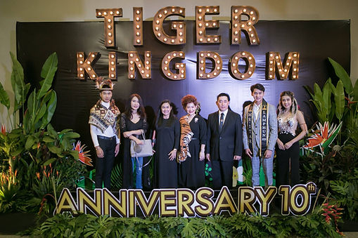 Tiger Kingdom Chiang Mai 10 year anniversary party