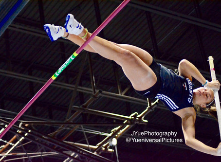Confident and energized, Alex Throndson continues to soar in the pole vault