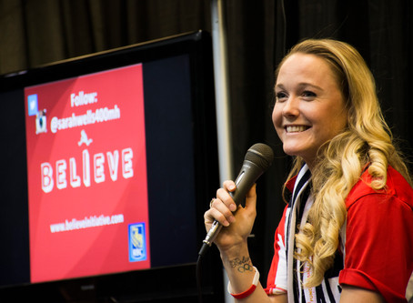 How Sarah Wells turned her Olympic experience into the 'Believe Initiative'