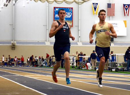 Varsity Blues decathlete Peter Collier letting his results speak for themselves