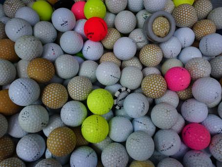Thousands of golf balls found off Pebble Beach