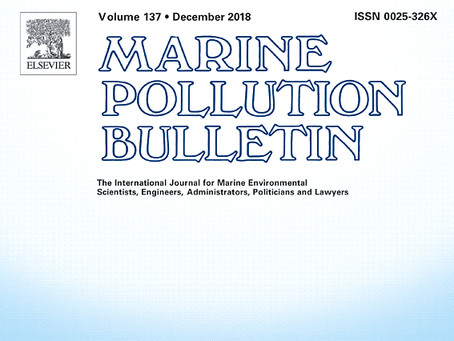 Alex Weber publishes first ever marine golf ball research in the Marine Pollution Bulletin!