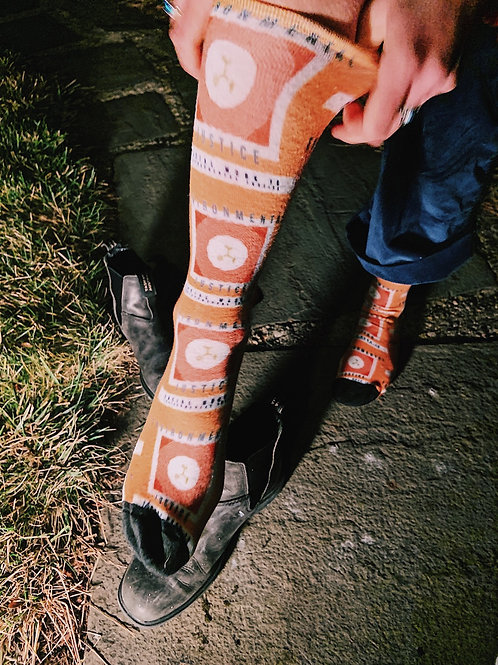 Orange Sock