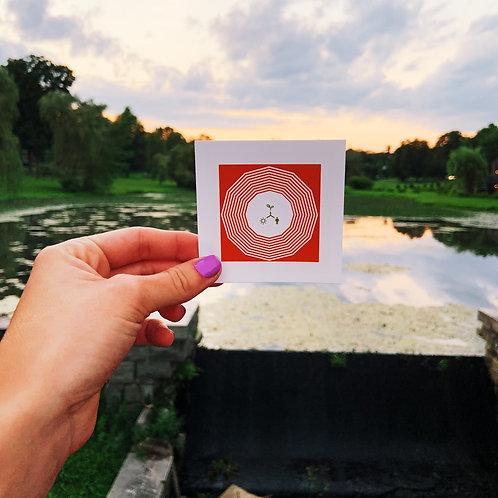 Environmental Social Work Pearl  Sticker
