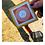 "Thumbnail: Orange Geometry Logo 2"" x 2"""