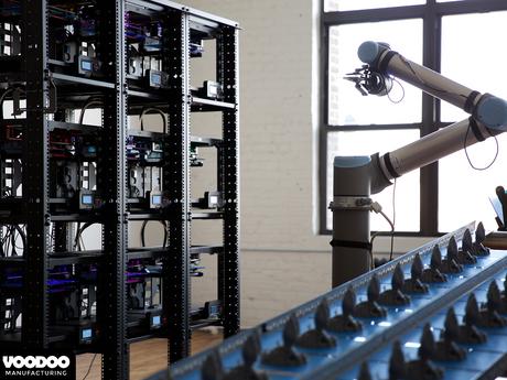 Mantenimiento de impresoras 3D hecho por un robot