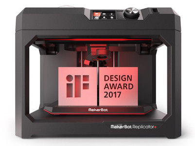 MAKERBOT REPLICATOR+ GANADORA DEL PRESTIGIOSO IF DESIGN AWARD