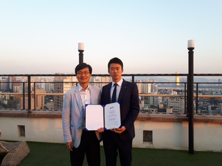 김영훈 박사 ME&D Young Scientist Award 수상