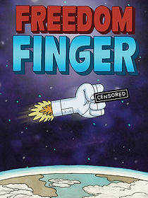 Freedom Finger, mark melara, video game, Playstation, PS4, Nintendo, Nintendo Switch, Steam, XBox One, Twitch, console, shoot 'em up, indie game, shmup, aesop rock, red fang, john dimaggio, nolan north, eric bauza