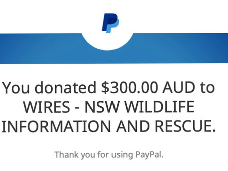 Our Profits Donated