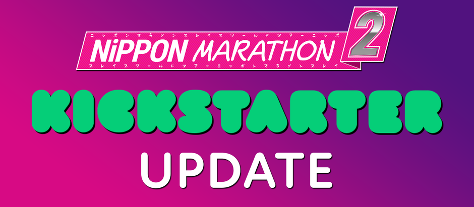 Kickstarter Campaign Update