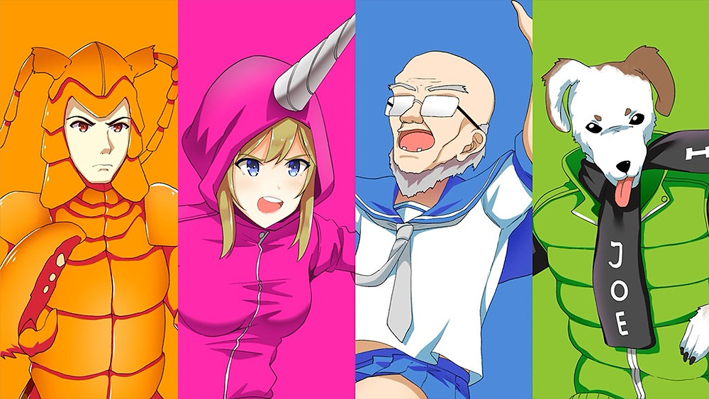 play as a colourful cast of characters in the nippon marathon