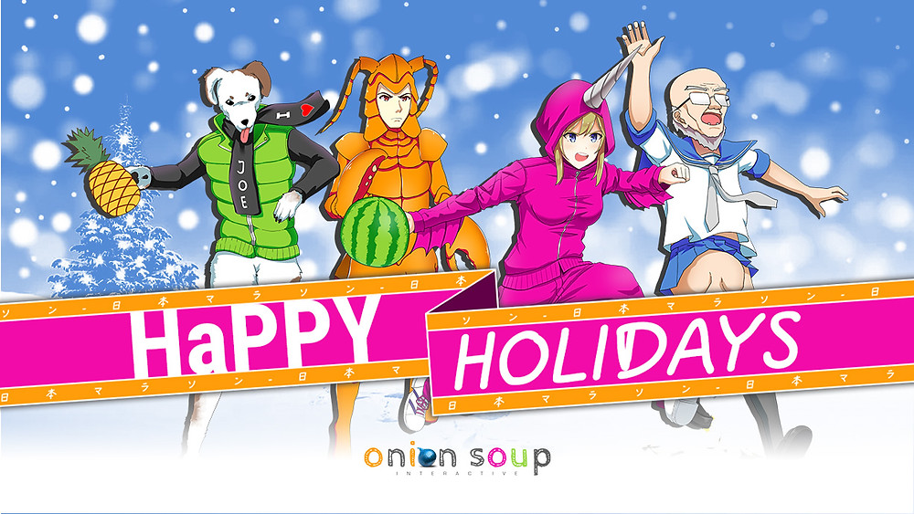happy holidays from onion soup interactive