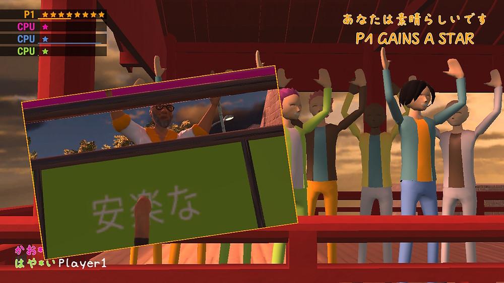 zenbei stuck in a door in nippon marathon