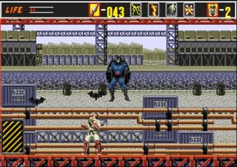 batman in revenge of shinobi