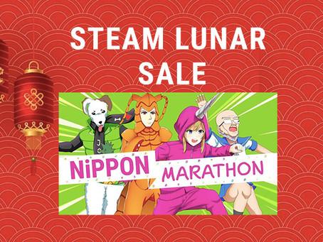 Save 60% on Nippon Marathon in the Steam Lunar Sale 2020!