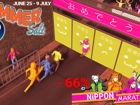 Nippon Marathon is 66% Off, Still 100% Crazy