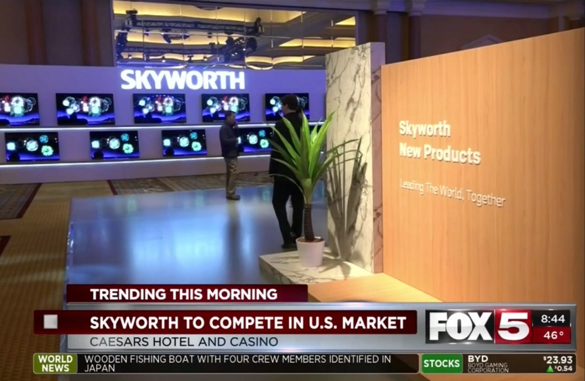 Skyworth at CES 2019