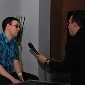 Nattefrost TV interview, Bielefeld, Germany September 2009 (3)