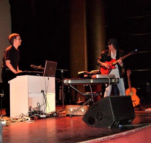 Robert Schroeder & Bjørn in 2008
