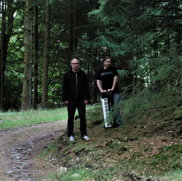 Claus Lynglund (Carboneids) & Bjørn in July 2017