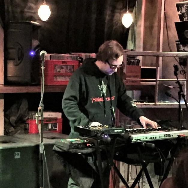 Nattefrost live at Folque Café, Skien, Norway 3rd November 2017