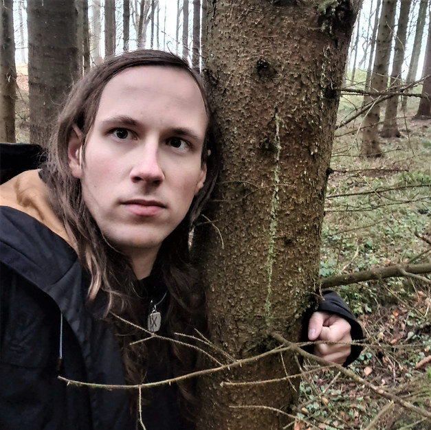 Bjørn on one of his many hikes December 2020