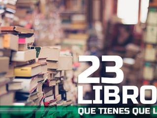 22 libros que tienes que leer recomendados por los que más saben