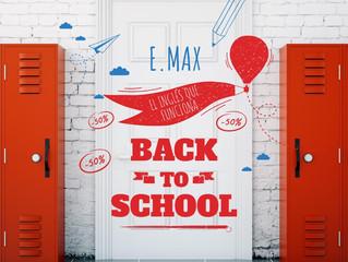 Te preparamos un regalo. ¡Regresa a clases con e.Max!