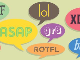 10 acrónimos de conversación en Inglés que vale la pena conocer