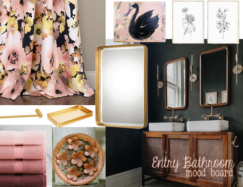 Mood Board Monday - The Entry Bathroom