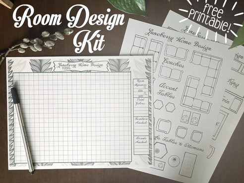 Free Printable Room Design Kit