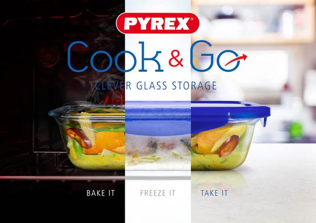 PYREX 3 way SPLIT