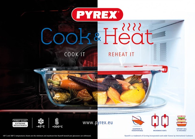 PYREX Cook and Heat