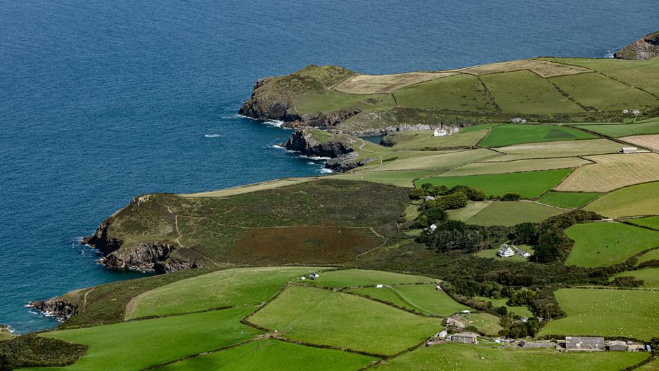 Doyden Castle Doyden Point North Cornwal