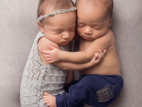 Inland Empire Baby Photography, Twins!!