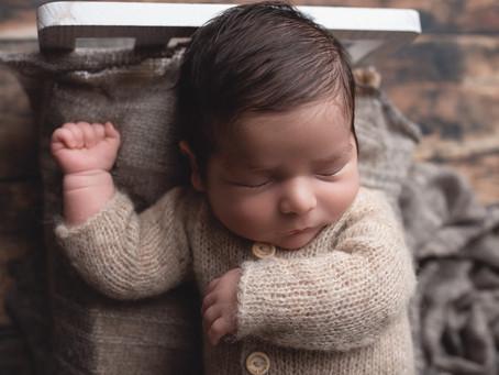 Matteo   In Home Newborn Session   Redlands, CA