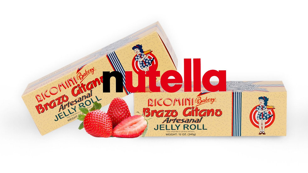 Brazo Gitano Nutella/Fresa 15oz