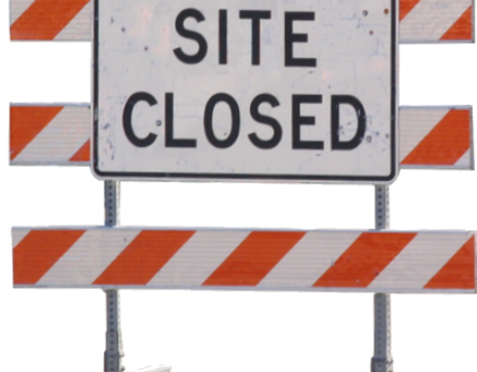 Extended Closure of Site