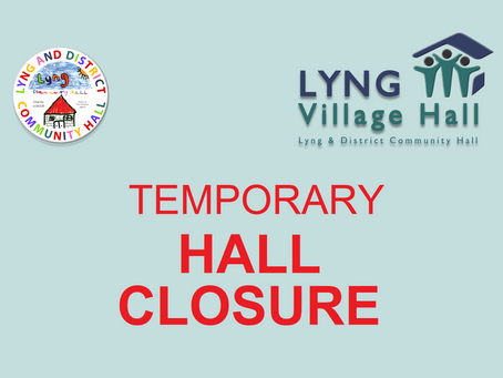 Temporary Hall Closure