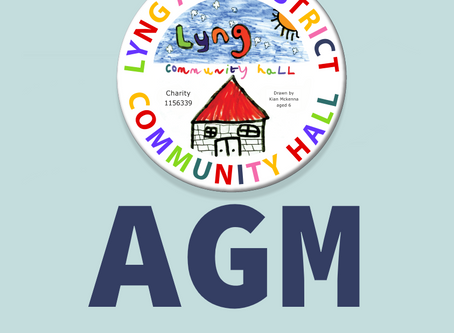 Notice of the AGM of Lyng & District Community Hall