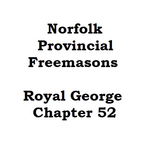 Norfolk Provinscial Freemasons