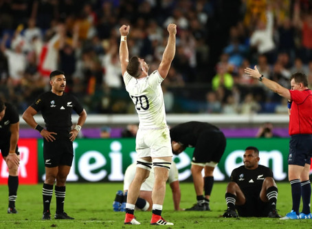 Rugby World Cup Final LIVE on Hall's BIG SCREEN