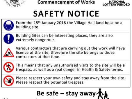 Site Closure & Safety Notice