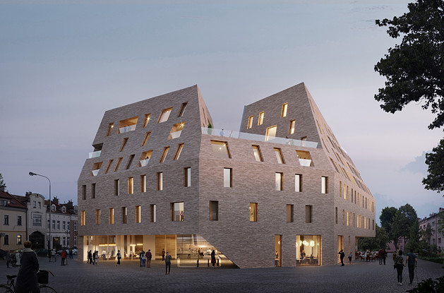 - Multifunctional building in Rzeszow -