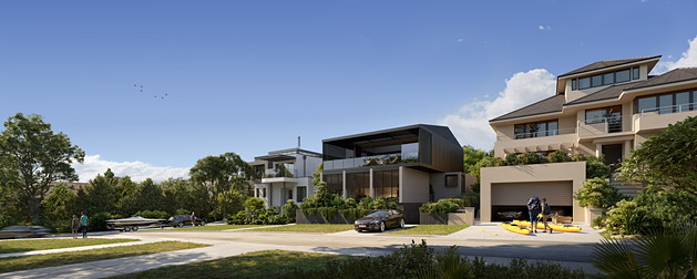- House in Vaucluse, Sydney -