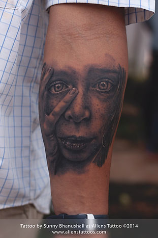 Photo realistic Portrait Tattoo [WORKSHOP]