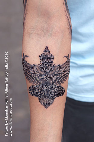 Lord Garuda Tattoo