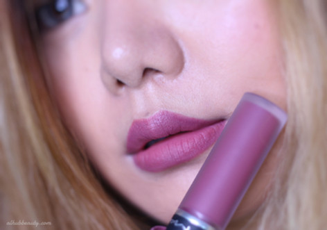 M.A.C Powder Kiss Liquid Lipcolour 990 Review