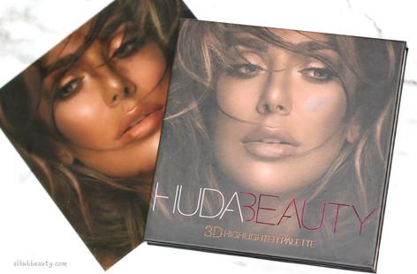 Huda Beauty 3D Highlighter Palette Bronze Sands Edition